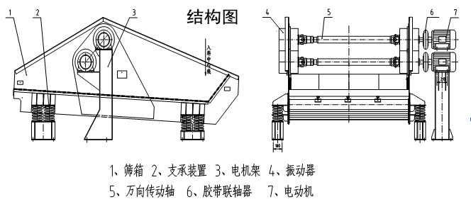 尾矿脱水设备结构图